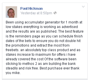 Mike Cruickshank Profit Accumulator Testimonial