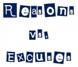 reasons or excuses to make money