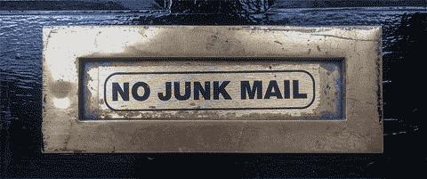 no junk emails