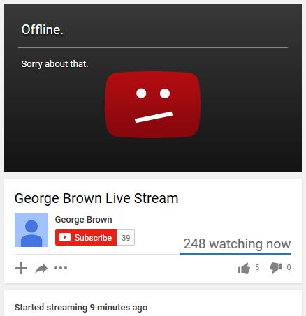 George Brown Webinar