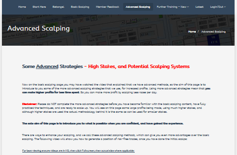 Betfair Scalping Course New Review