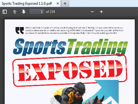 sports betting exposed review
