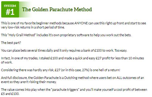 golden parachute expo