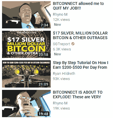 bitconnect video on youtube image