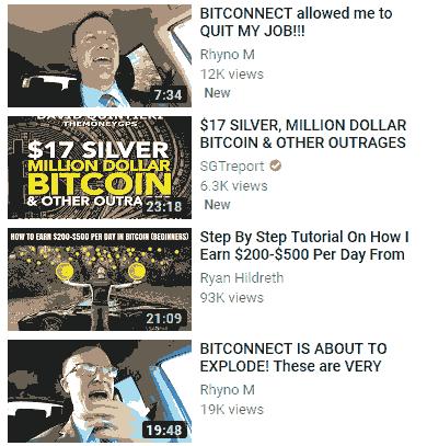 bitconnect video on youtube image